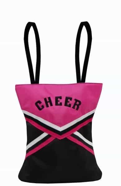 CHR-03Pink   Cheer Uniform Small Tote