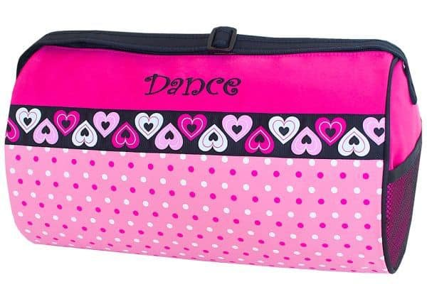 DTZ-02Blank  Dance Dotz Duffel Blank & Ready to Customize – See the Collection