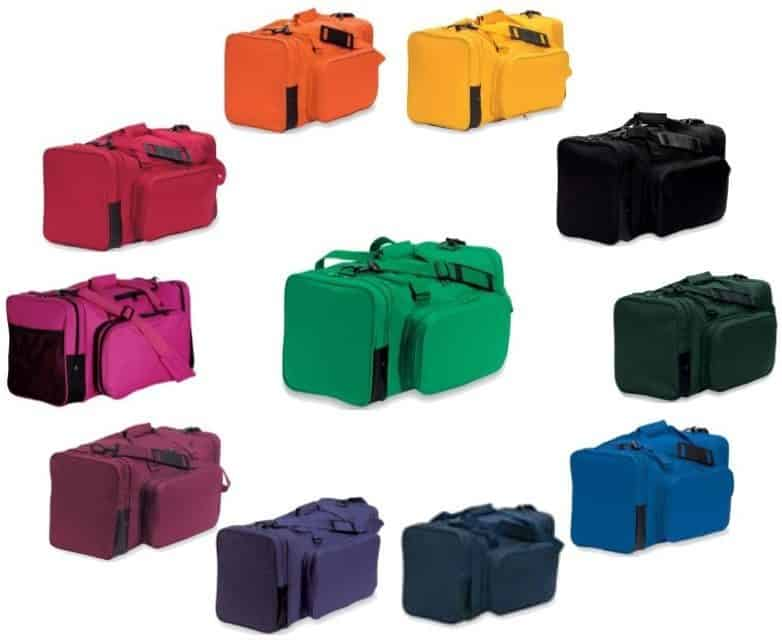 Team Bags – Large Square Duffels in 3 Sizes and 10 Colors