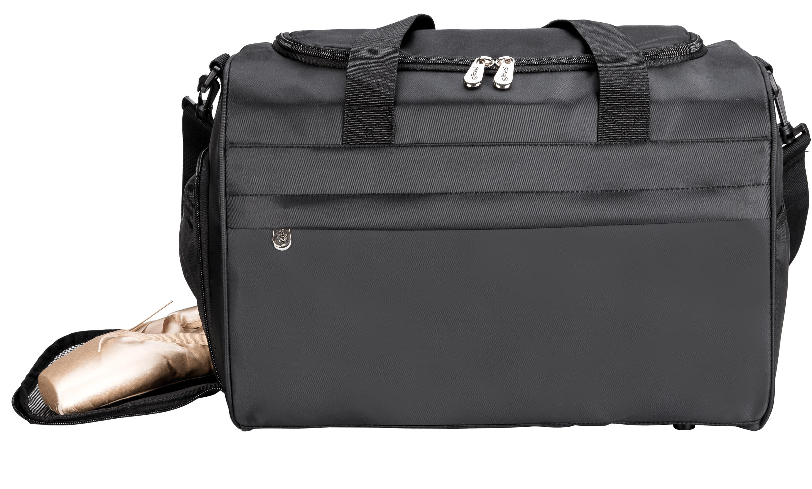 SD16Black   **NEW** Solid Black Duffel – BLANK & Ready to Customize – Starts Shipping June 2018